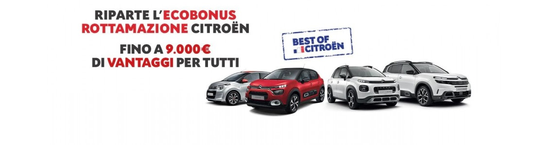 Rottamazione Citroën Ecobonus